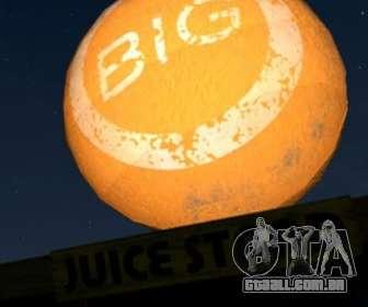 Grande bola laranja em GTA V