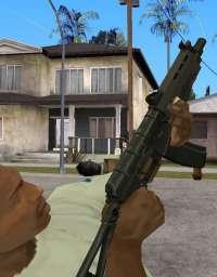 GTA San Andreas armas com configuração automática download grátis