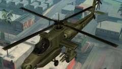 o Código de helicóptero Hunter do GTA San Andreas