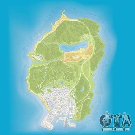 O mapa de subaquático peças em Grand Theft Auto 5