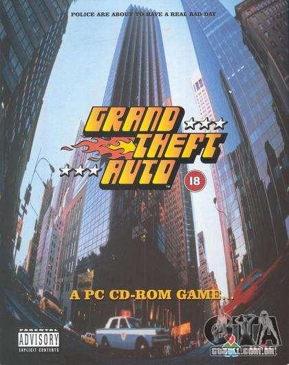 15 anos a partir da data de lançamento de GTA 1 PC no Japão