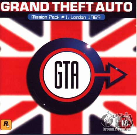 13 anos a partir da data de lançamento de GTA London 1969 no PC