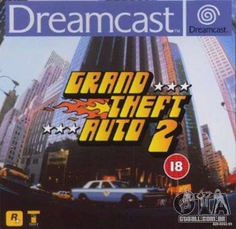 o Lançamento de GTA 2 para Dreamcast na América do Norte: a partir do século 20, o século 21