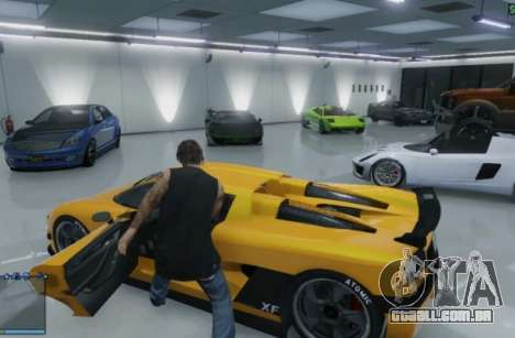 Garagens em GTA Online