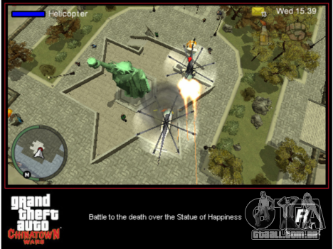 Sair GTA CW PSP na América