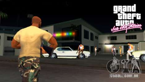 a Saída do Vice City Stories PSP na Europa
