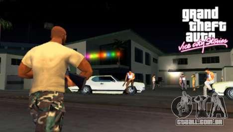 a Saída do Vice City Stories PSP na Europa