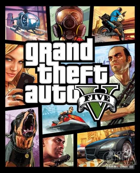 GTA 5 para PC lançado
