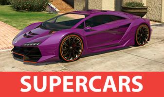 Supercarros em GTA 5