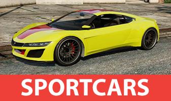 Carro desportivo em GTA 5