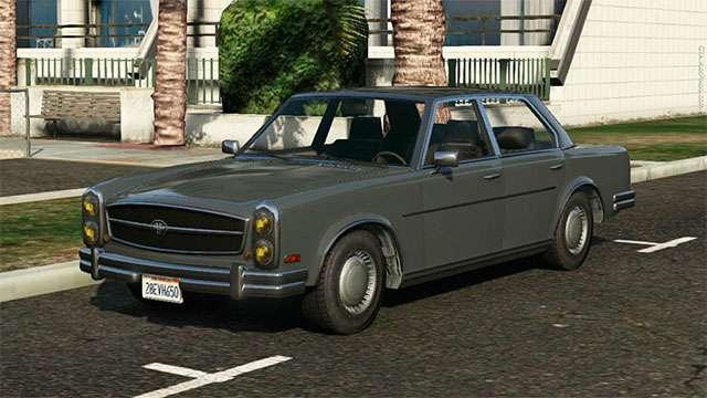 Benefactor Glendale de GTA 5