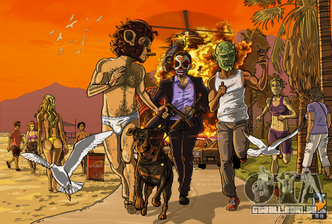 Atualização GTA Fan Art de 21 de maio, o