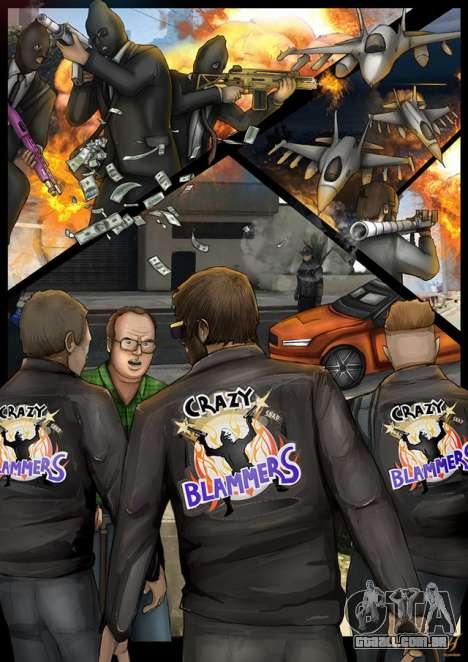 Comando de vídeo de GTA 5: os pilotos, os assaltantes