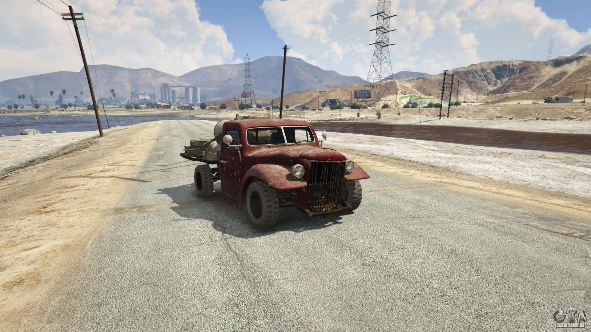 Rat-Loader de GTA 5 - vista frontal