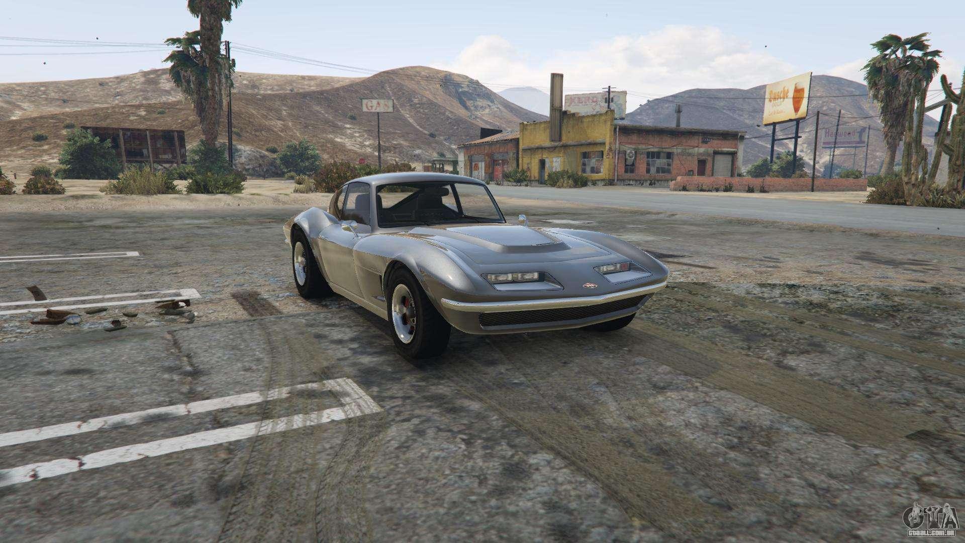 Invetero Coquette Clássico GTA 5 - vista frontal