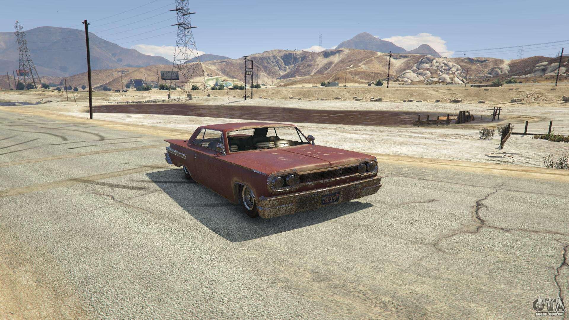 Voodoo do GTA 5 - vista frontal
