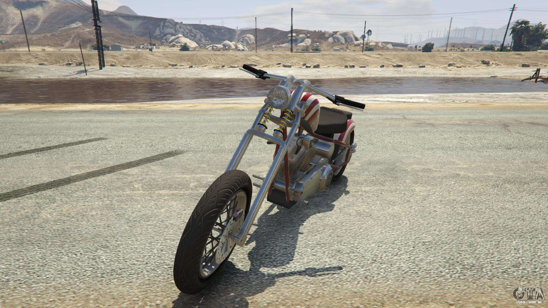 Liberty City Cycles Hexer do GTA 5