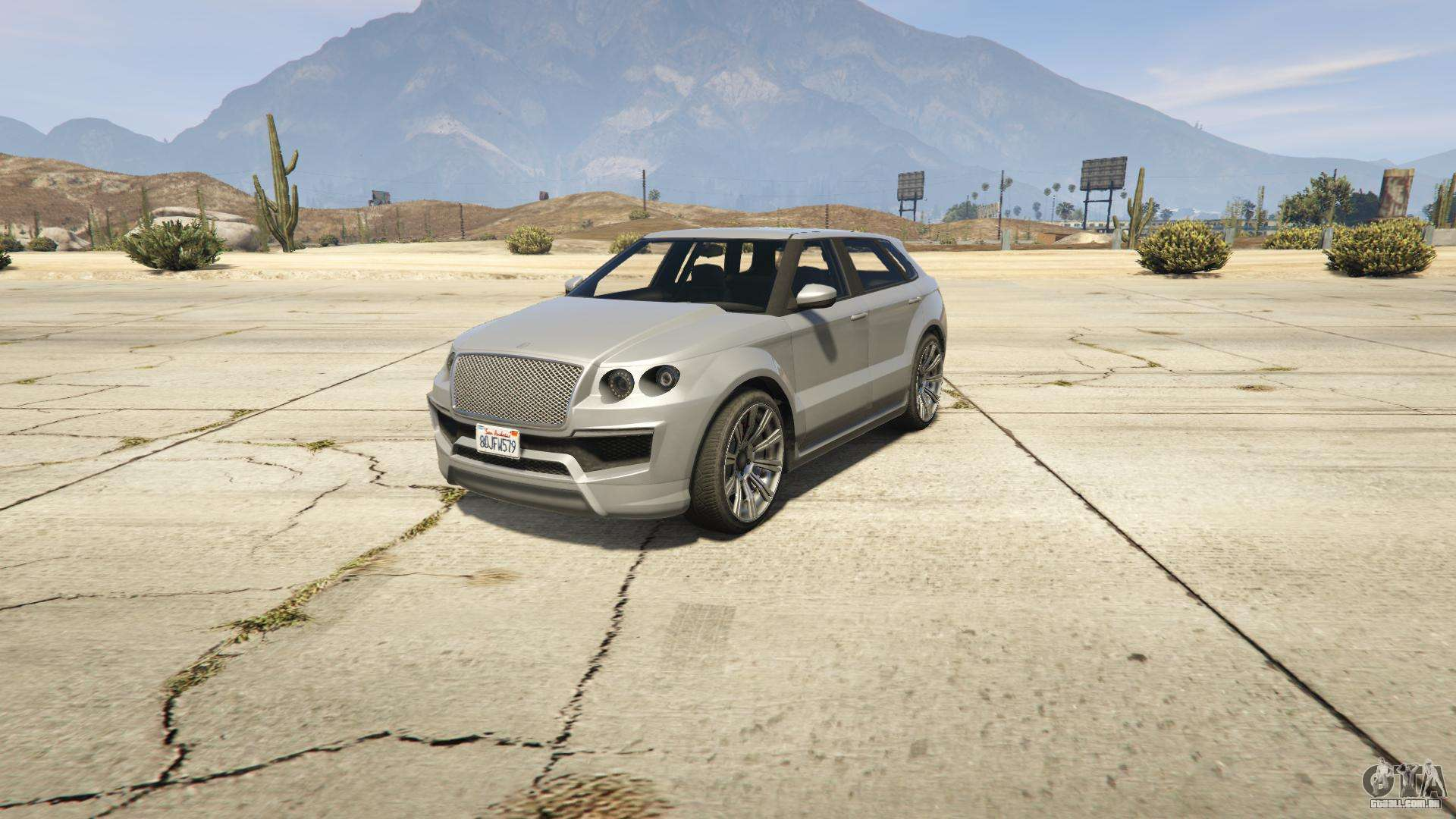 GTA 5 Enus Huntley S - vista frontal