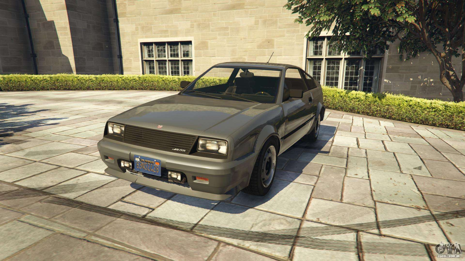 Dinka Blista Compact do GTA 5 - vista frontal