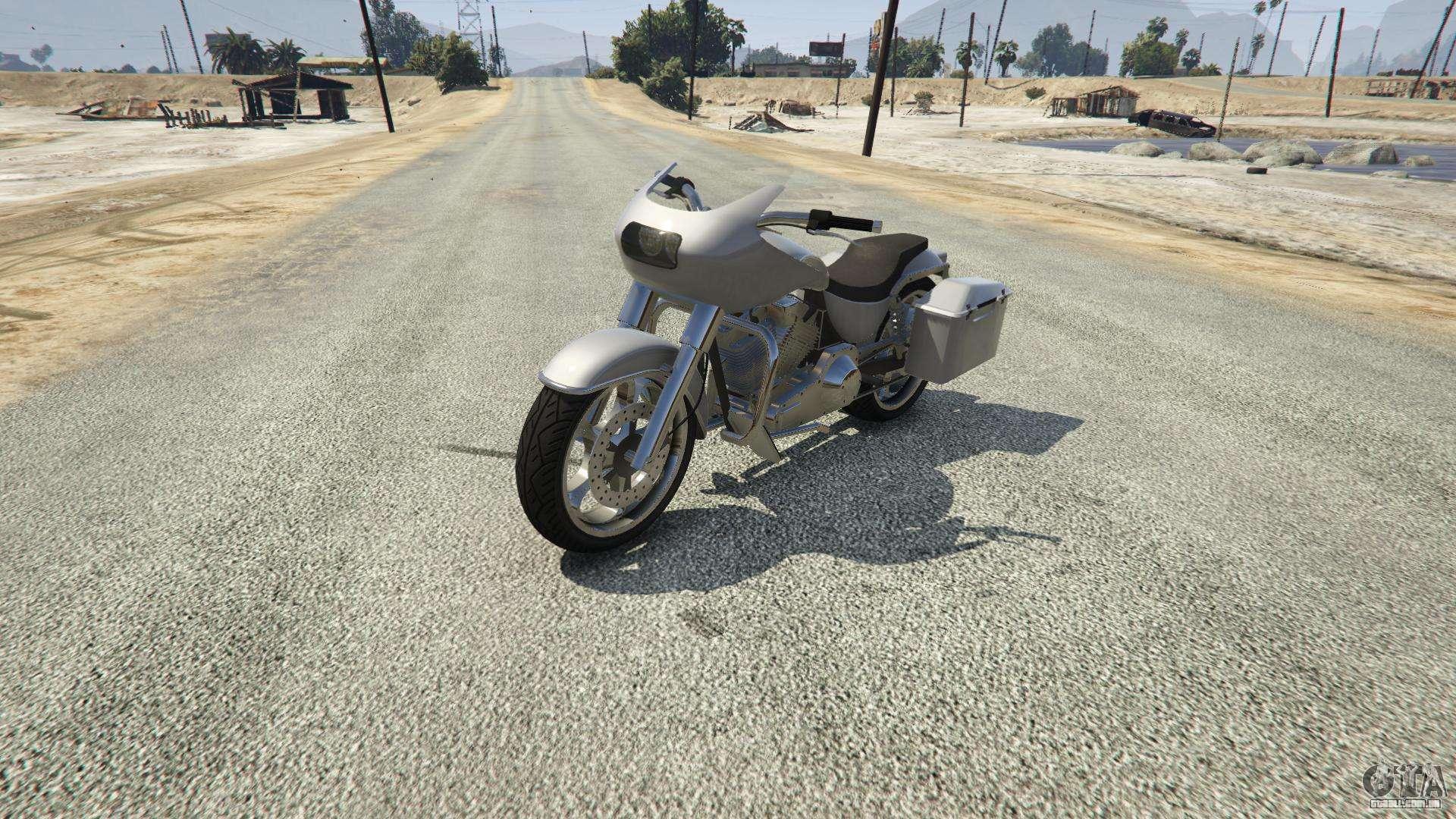 Western Motorcycle Company Bagger de GTA 5