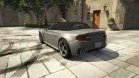 Dewbauchee Rapid GT Convertible do GTA 5 - vista posterior