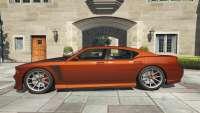 A Bravado Buffalo S GTA 5 - vista lateral
