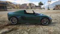 Bobina de Voltic Topless de GTA 5 - vista lateral