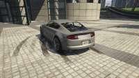 Dewbauchee Versão do GTA 5 - vista posterior