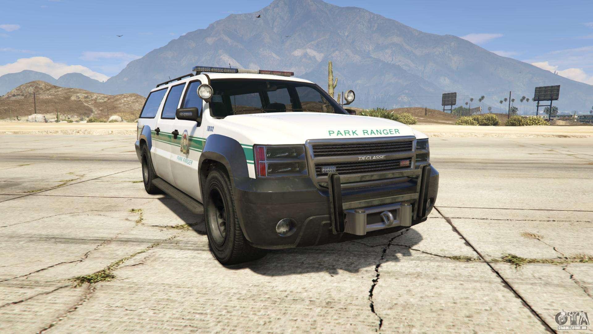 GTA 5 Declasse Park Ranger - vista-frontal