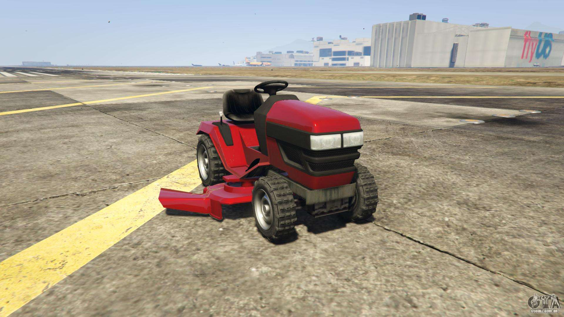 GTA 5 Jacksheepe Mower - vista frontal