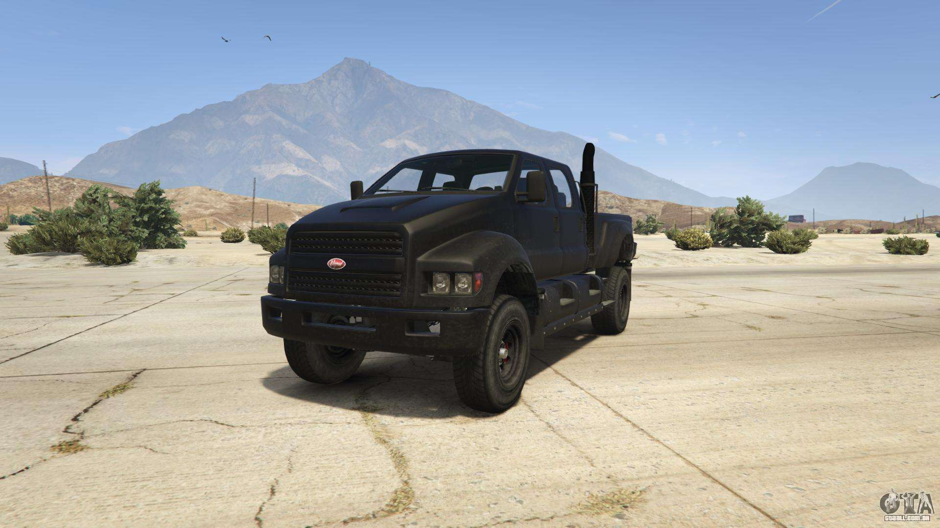GTA 5 Vapid Guardian - vista frontal