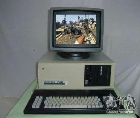GTA 5 em uma antiga computadores