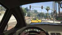 Coil Brawler de GTA 5 - Vista da cabine