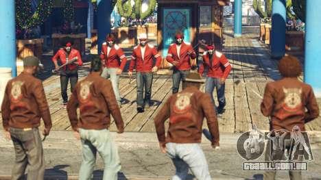 Os Guerreiros, Briga de Gangues