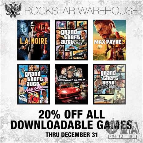 Desconto no Rockstar Warehouse e do Vapor