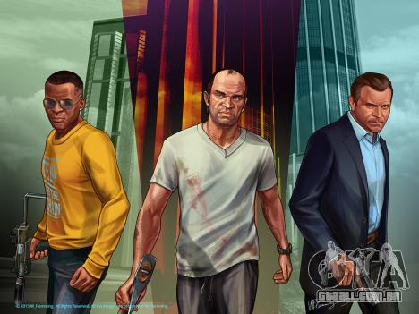 Grand Theft Auto V Protagonistas