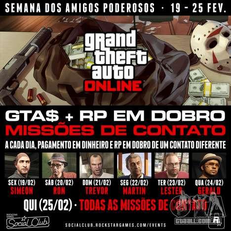 Promoções no GTA Online