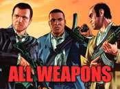 Todas as armas cheat para GTA 5