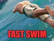 Rápido nadar cheat para GTA 5 no PS4