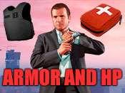 Saúde e armadura cheat para GTA 5 no XBOX ONE