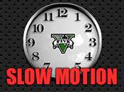 GTA 5 - O tempo lento cheat.