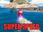 Super velocidade cheat para GTA 5 no PlayStation 4