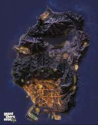 Mapa de GTA 5