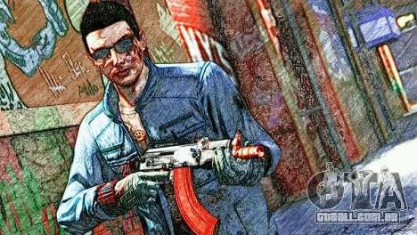 Yu-nosuke do GTA Online retrato do personagem