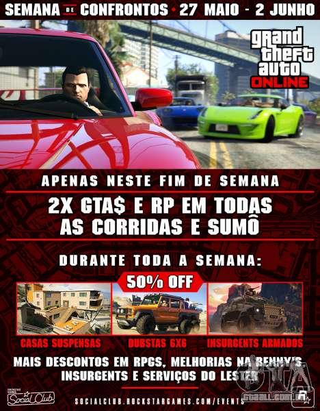 Semana de Confrontos em GTA Online