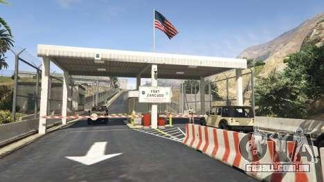 Fort de Zancudo, no GTA 5