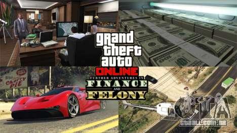 Mais Aventuras em Financas e Crime: como se tornar um Criminoso Chefao