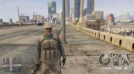 o guarda-Costas terno para o GTA Online