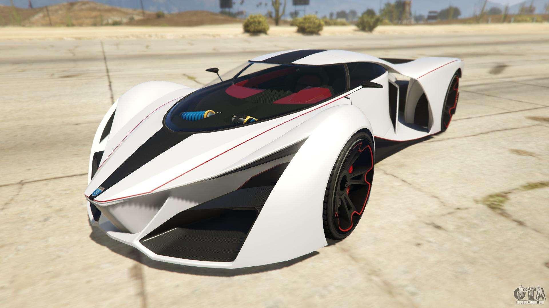 Grotti X80 Proto de GTA Online - vista frontal