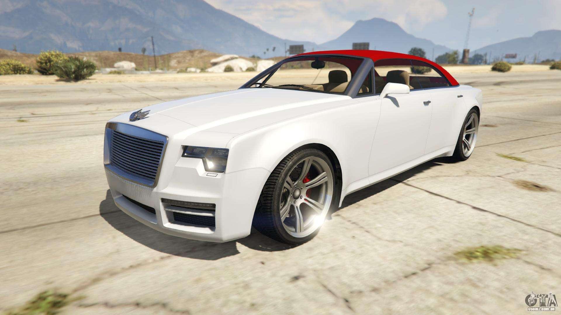 Enus Windsor Drop de GTA 5 - vista frontal